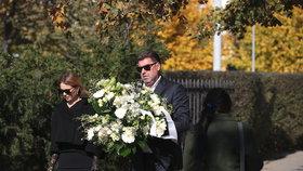 Na pohřeb Jana Kočky ml. (†28) dorazil i podnikatel Martin Nejedlý.
