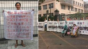 Aktivistka Tchan zmizela beze stopy.