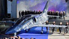 Předsériový letoun L-39NG, stroj nové generace, 22.12.2018 poprvé vzlétl na letišti Aera Vodochody