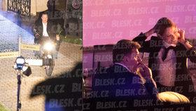 Tomáš Hrdlička, podnikatel a lobbista označovaný za »pražského kmotra«, slavil na Hluboké padesátiny