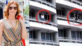 Žena ztratila rovnováhu při focení selfie a spadla z výšky 27 pater.