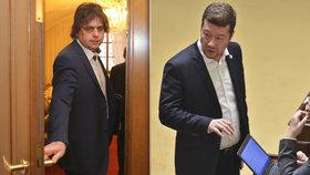 Miloslav Rozner a Tomio Okamura (SPD) nebudou prozatím stíháni za svá slova o táboru v Letech.
