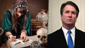 Americké čarodějnice si brousí zuby na Bretta Kavanaugha a další sexuální násilníky.