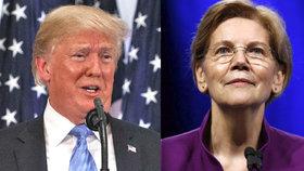 Americká senátorka Elizabeth Warrenová, kterou prezident Donald Trump kvůli tvrzení o domorodém původu posměšně nazývá falešnou Pocahontas, v pondělí zveřejnila závěry testu své DNA. Trumpa, který slíbil dát peníze na charitu, pokud politička prokáže domorodý původ, vyzvala ke splnění závazku. Prezident opáčil, že nikdy nic podobného neslíbil, uvedla agentura Reuters (16. 10. 2018).