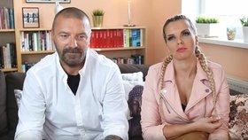 Tomáš Řepka a Kateřina Kristelová na YouTube.