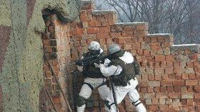 601. skupina speciálních sil z Prostějova v Afghánistánu