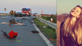 Další oběť nehody badmintonové reprezentace u Brna: Antonie (†21) zemřela v nemocnici