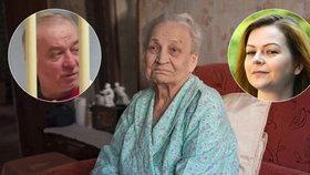 Jelena Jakovlevna (90), matka dvojitého agenta Sergeje Skripala, se obává, že syna ani vnučku už neuvidí.