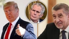 Babiš dostal pozvánku do Bílého domu, s Trumpem se má sejít v březnu.