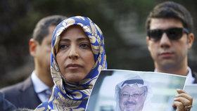 Nositelka Nobelovy ceny míru Tawakkul Karmánová promluvila o Chášukdžím-