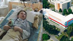 Adámek (10) po operaci mandlí upadl do kómatu: Krvácel a tohle musel ujít po svých!