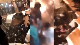 Šokující video: Lidé na večírku klidně tancovali, najednou se pod nimi propadla podlaha!