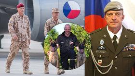 Rotný Tomáš Procházka byl kynolog. Při útoku v Afghánistánu, který nepřežil, měl na korbě vojenského auta také svého psa.