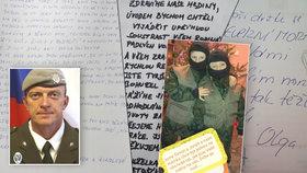 Češi poslali vojákům v Afghánistánu dojemné vzkazy.