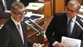 Boj o rozpočet: Kalousek chce, aby ho vláda předělala. Náš rozpočet zlepší život občanům, říká Babiš