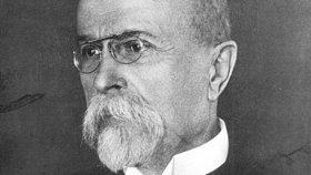 První prezident Československé republiky T.G. Masaryk (1850-1937)
