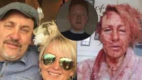 Agresor napadl ženu, pak jí zabil syna