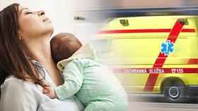 Nejvyšší soud odmítl dovolání jihomoravské záchranné služby, která odvezla matku s čerstvě narozeným dítětem do nemocnice proti její vůli. (Ilustrační foto)