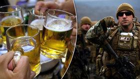 Američtí vojáci se na spojenecké cvičení NATO připravovali na Islandu. Na závěr tréninku se jim podařilo vypít skoro všechno pivo v Reykjavíku.