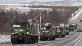 V Norsku probíhá vojenské cvičení členských zemí NATO. (25. 10. – 7. 11. 2018).