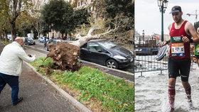 Itálii zasáhlo extrémní počasí.