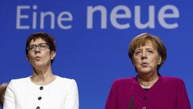 Merkelovou by v čele CDU mohla nahradit Annegret Krampová-Karrenbauerová