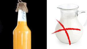 Vaječný likér nesmí obsahovat mléko, rozhodl soud.