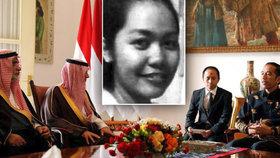Saúdové popravili Indonésanku bez vědomí indonéské vlády. Prezident Widodo se dožaduje vysvětlení. Na snímku indonéský prezident Widodo se saúdským ministrem zahraničí.