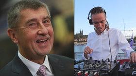 Premiér Andrej Babiš a předseda Pirátů Ivan Bartoš