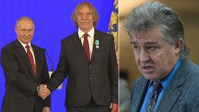 Poslanec Jiří Dolejš kritizuje Nohavicu za to, že převzal ruské ocenění.