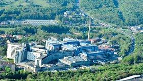 Nemocnice Motol je největší nemocnicí v ČR