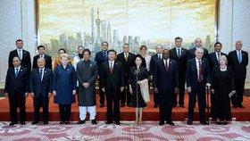 Prezident Miloš Zeman v Šanghaji zahájil česko-čínské podnikatelské fórum.