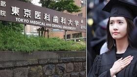 Tokijská lékařská fakulta diskriminovala ženy, nová děkanka slíbila, že už se to nestane.