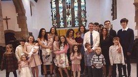 Rodina Radfordových je vskutku obrovská.