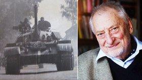 Zemřel redaktor Českého rozhlasu Jan Petránek (†86). Vysílal i pod palbou Rusů.