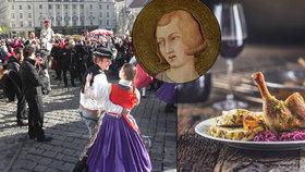 Pečená husa, dobré víno, bílý sníh, to vše mají Češi spojené s oblíbeným svátkem sv. Martina, který připadá na 11. listopadu.  Jak se to ale stalo, že bohatá hostina a velkolepé slavnosti jsou spojovány právě se světcem, který proslul svojí skromností a střídmým životem? Za vším hledejme staré legendy a trochu lidové představivosti.