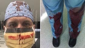 Doktoři sdílejí na Twitteru zakrvácené fotografie, jaké je to starat se o oběti střelných zbraní