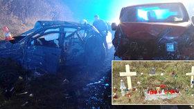 S Veronikou v autě smrti u Hořic zahynula i Anetka (†17): Ještě včera jsi byla živel ve škole, pláčou kamarádi