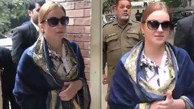 Tereza přichází k soudu