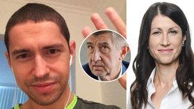 Psychiatrička Dita Protopopová (vpravo) psala zprávu o zdraví Andreje Babiše mladšího (vlevo).