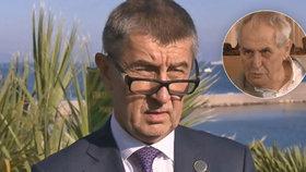 Miloš Zeman předpovídá, že ani současné důkazy o údajném únosu premiérova syna kvůli Čapímu hnízdu vládu neohrozí. (13. 11. 2018)