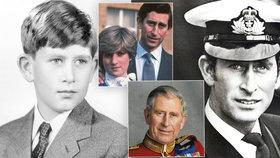 Princ Charles slaví kulaté narozeniny.