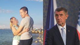 """ONLINE: Babiš děkuje """"únosci"""" svého syna. Na juniora vypluly fotky z Krymu"""