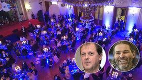 Hospodářská komora rozdala na Žofíně Řád Vavřínů, mezi laureáty se objevili i hokejista Jaromír Jágr či šéf ČT Dvořák (15.11.2018)