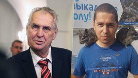 """Miloš Zeman se vyjádřil k """"únosu"""" Andreje Babiše mladšího"""