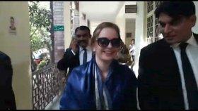 Tereza je v Pákistánu v úzkých: Žalobce dodal soudu důležité dokumenty, které jí mají usvědčit