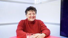 Džamila Stehlíková v Epicentru mluvila o schizofrenii.