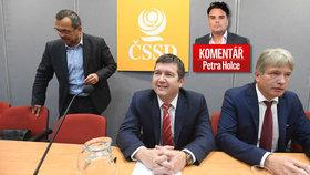 ČSSD si postojem k hlasování o nedůvěře vlepila facku, míní komentátor Petr Holec
