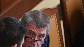 Premiér a vicepremiér. Andreje Babiš několikrát probíral situaci s Janem Hamáčkem. Opozice chtěla jejich konec.
