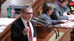 Exministr zahraničí Zaorálek ve Sněmovně